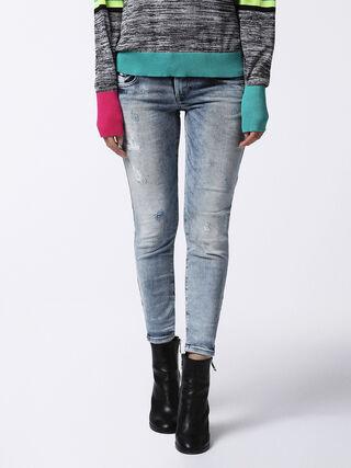 GRUPEE-ANKLE 084DK, Blue jeans