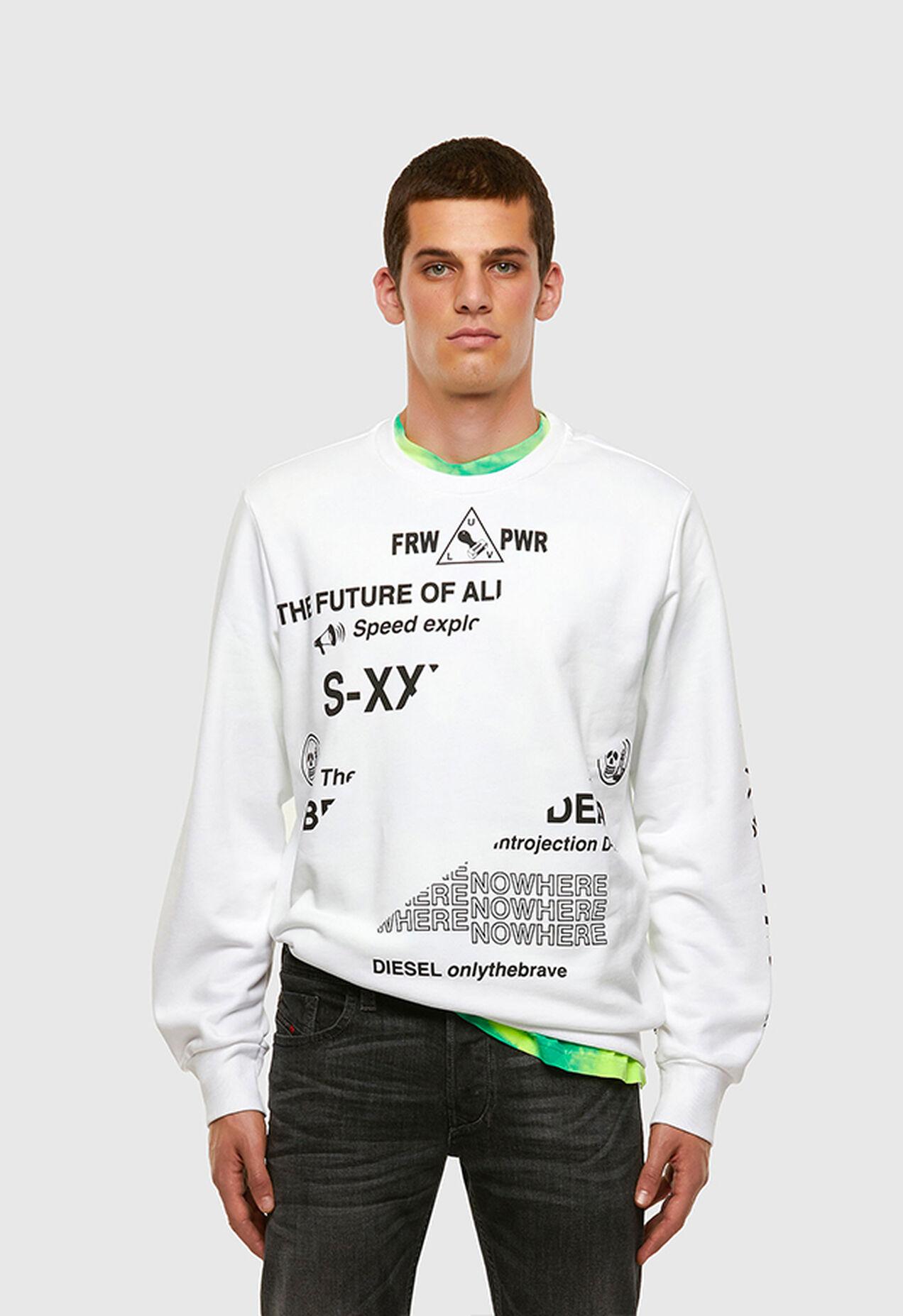 S-GIRK-FOLDED, White - Sweaters