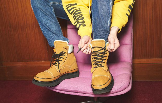 H-SHIROKI DBBT, Light Brown - Boots