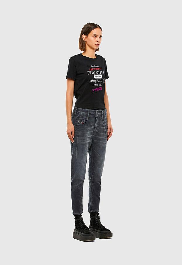 Fayza JoggJeans 069QA, Black/Dark grey - Jeans