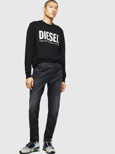 Diesel - Larkee-Beex 082AS, Black/Dark grey - Jeans - Image 5