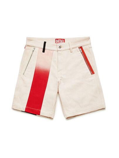 Diesel - GR02-P303-P, White - Shorts - Image 1