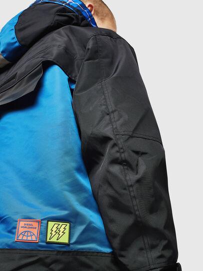 Diesel - W-HELBERT, Black/Blue - Winter Jackets - Image 7