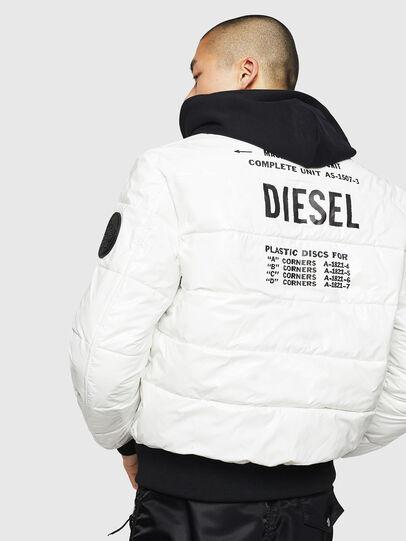 Diesel - W-ON, White - Winter Jackets - Image 2