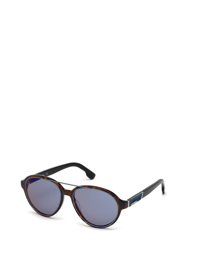 Diesel - DL0214, Brown - Eyewear - Image 4