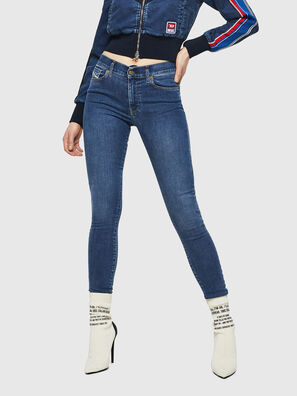 D-Roisin 085AB, Medium blue - Jeans