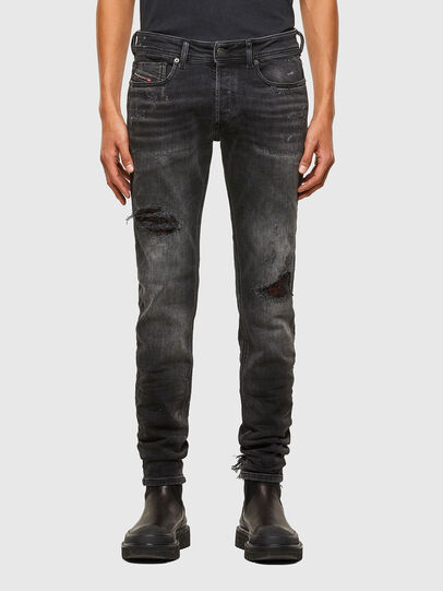 Diesel - Sleenker 009JN, Black/Dark grey - Jeans - Image 1