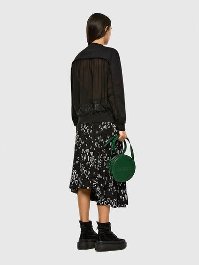 Diesel - O-SPRING-LONG, Black - Skirts - Image 6