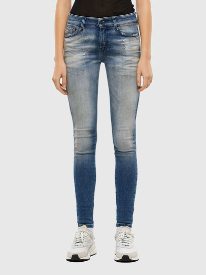 Diesel - Slandy 009JJ, Medium blue - Jeans - Image 1