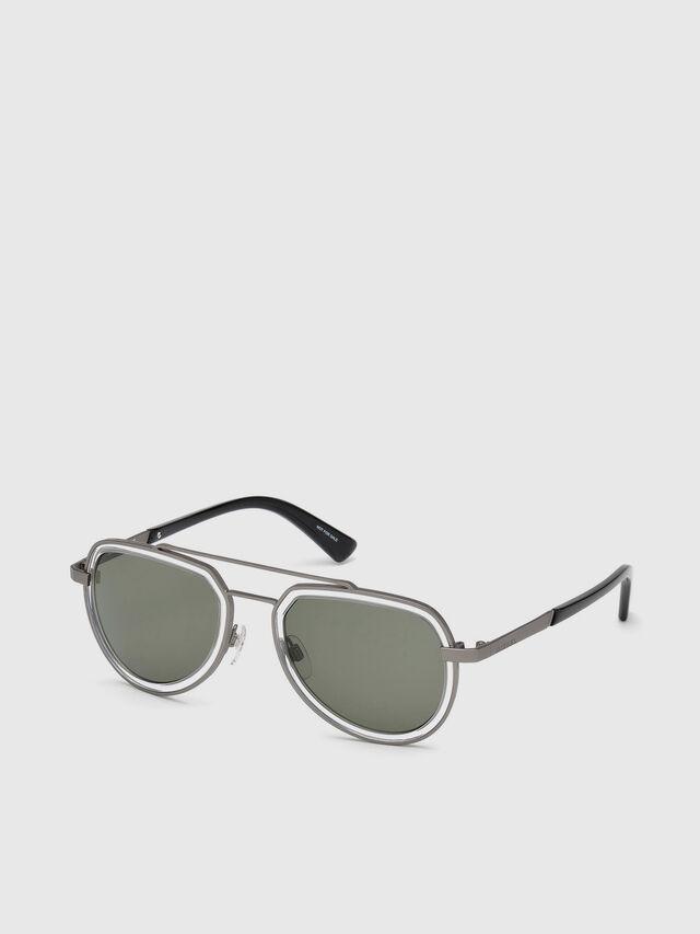 Diesel - DL0266, Black/Grey - Eyewear - Image 2