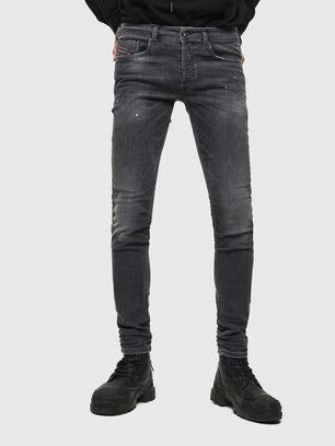 Sleenker 069JR, Black/Dark grey - Jeans