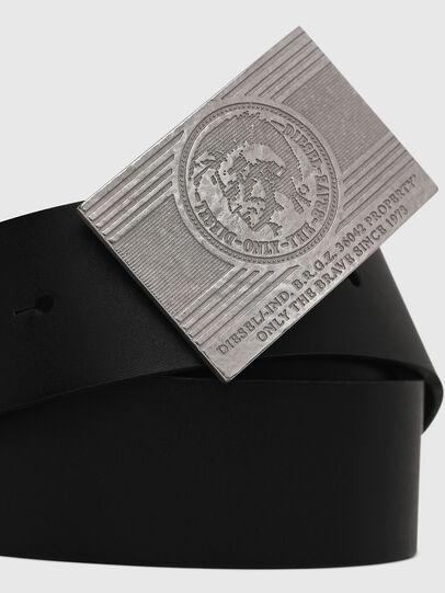Diesel - B-STRA, Black - Belts - Image 2
