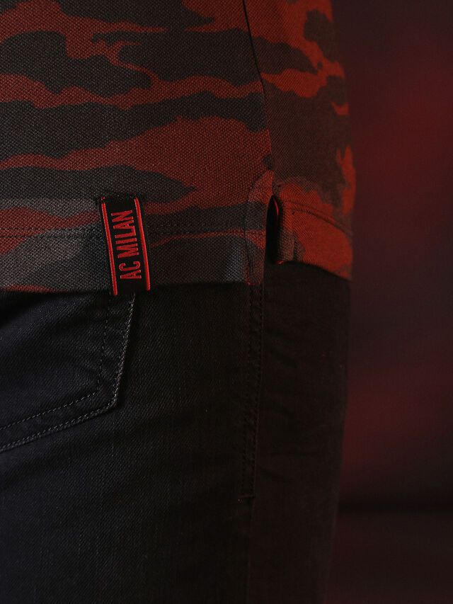 Diesel - DVL-POLO-SPECIAL COLLECTION, Red/Black - Polos - Image 7