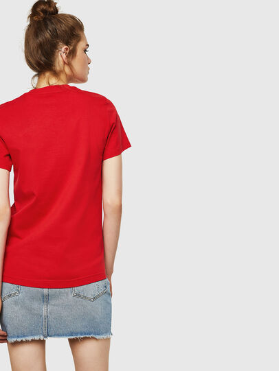 Diesel - T-SILY-ZF, Fire Red - T-Shirts - Image 2