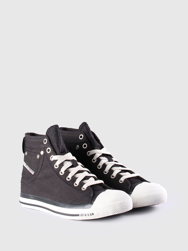 Diesel - EXPOSURE W, Black/White - Sneakers - Image 2