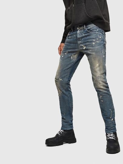 Diesel - Thommer JoggJeans 0870X, Medium blue - Jeans - Image 5