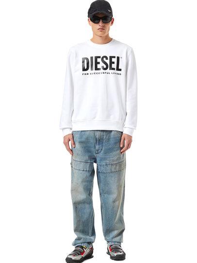 Diesel - S-GIRK-ECOLOGO, White - Sweaters - Image 4