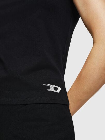 Diesel - UFTEE-ROUNDFEM, Black - T-Shirts - Image 3