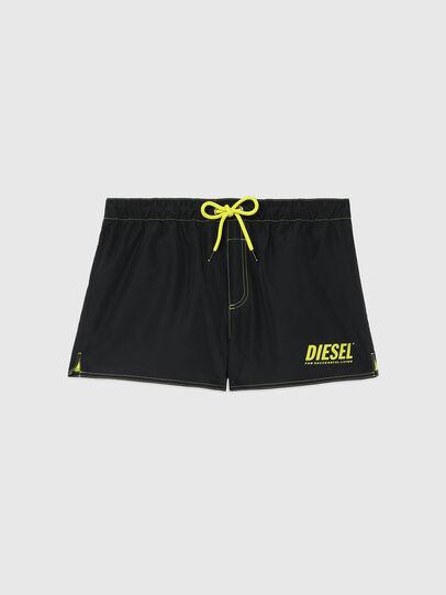 Diesel - BMBX-SANDY-REV, Black/Yellow - Swim shorts - Image 5