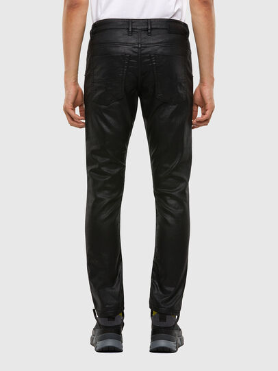 Diesel - Krooley JoggJeans 0849R, Black/Dark grey - Jeans - Image 2