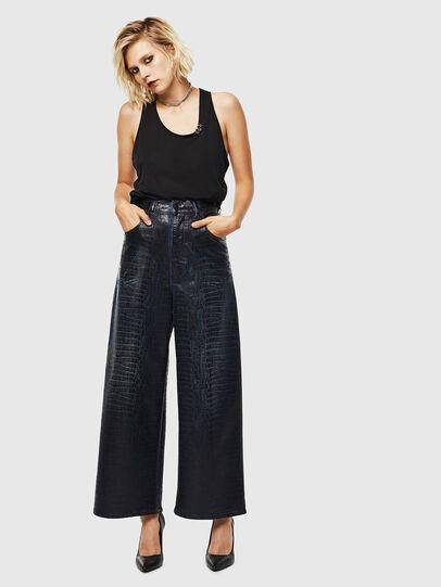 Diesel - D-Luite JoggJeans 0094R, Dark Blue - Jeans - Image 6