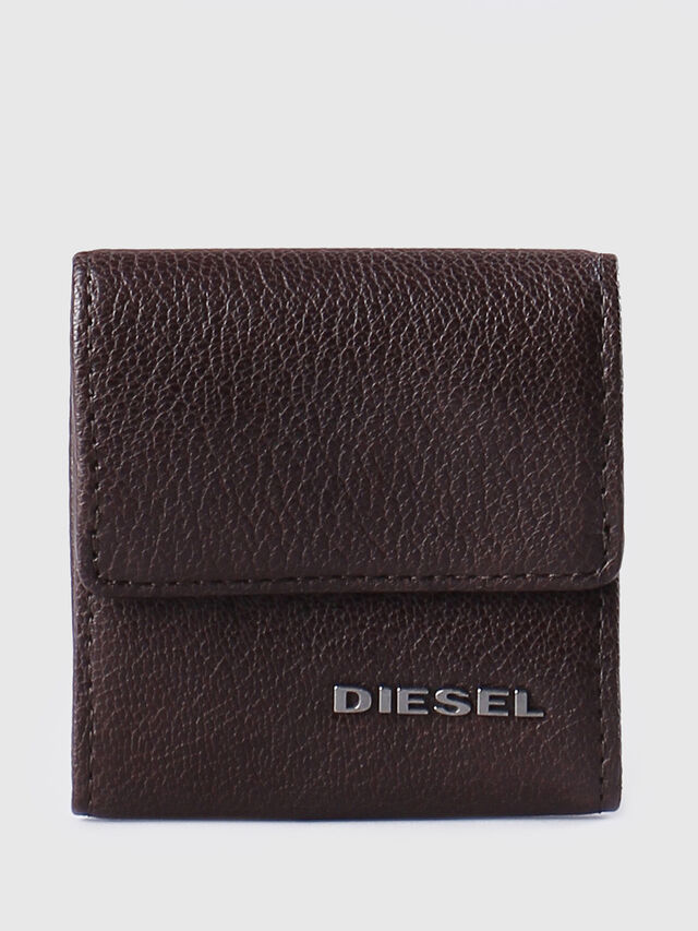Diesel KOPPER, Dark Brown - Small Wallets - Image 1