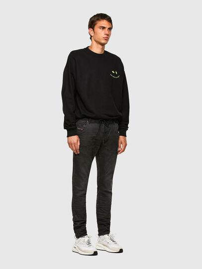 Diesel - Krooley JoggJeans 069QL, Black/Dark grey - Jeans - Image 5