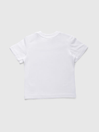 Diesel - TJUSTDIVISIONB, White - T-shirts and Tops - Image 2