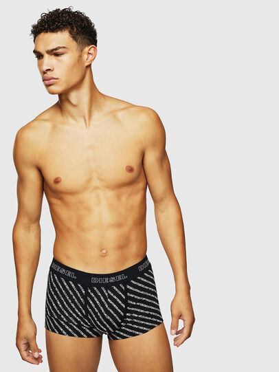 Diesel - UMBX-DAMIEN, Black/White - Trunks - Image 1