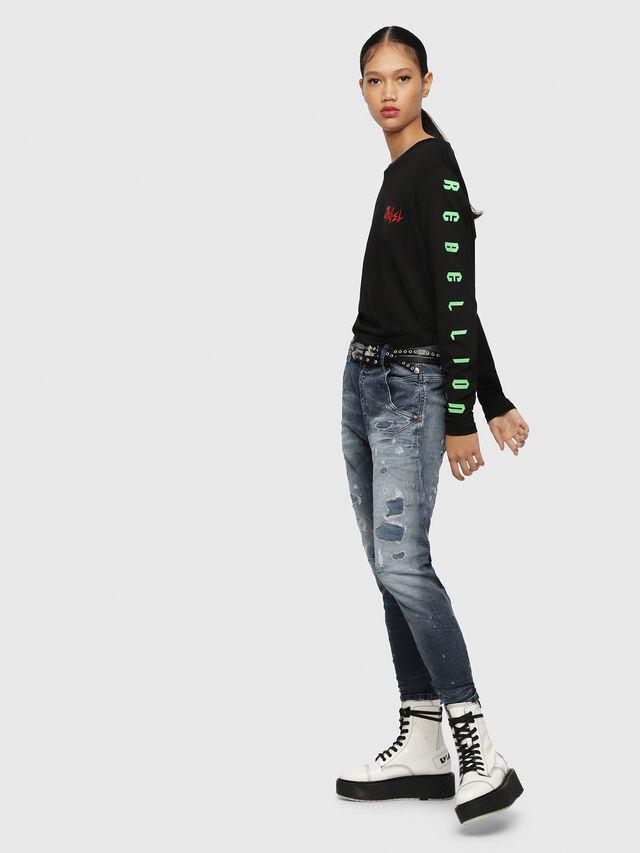 Diesel - Fayza JoggJeans 069CC, Medium blue - Jeans - Image 4