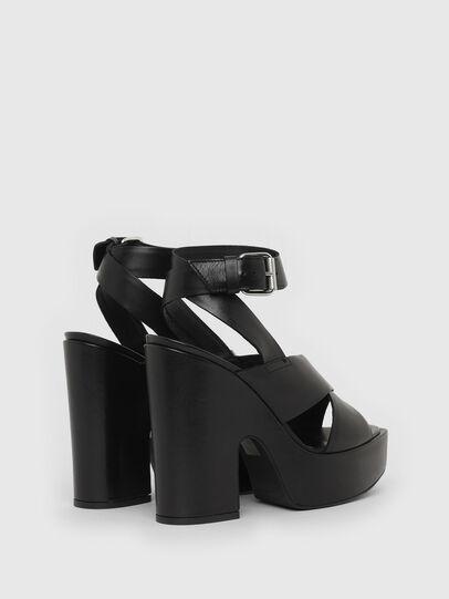 Diesel - SA-JULIA, Black - Sandals - Image 3