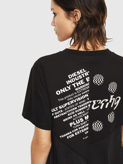 Diesel - T-SETH, Black - T-Shirts - Image 3