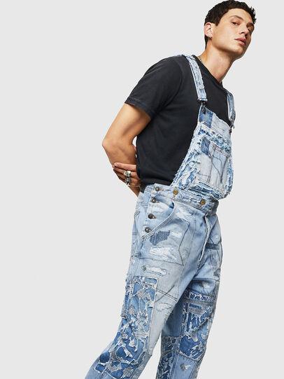 Diesel - D-HARU-SY, Blue Jeans - Jumpsuits - Image 5