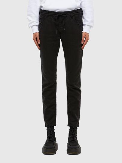 Diesel - Krailey JoggJeans 069NC, Black/Dark grey - Jeans - Image 1