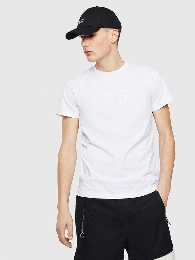 T-DIEGO-S5, White - T-Shirts