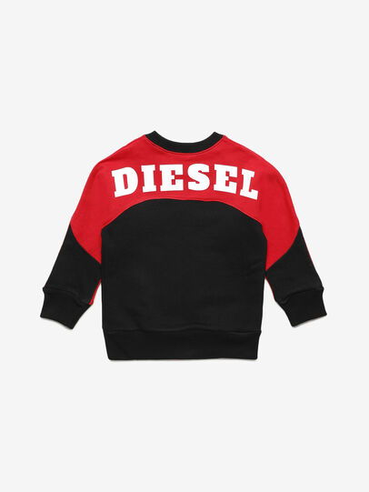 Diesel - STRICKB-R, Black/Red - Sweaters - Image 2