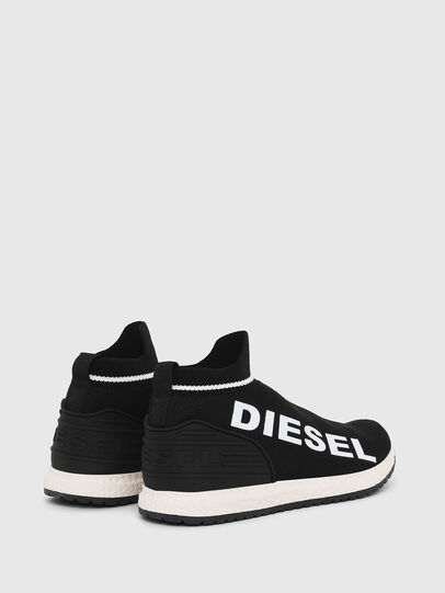Diesel - SLIP ON 03 LOW SOCK, Black - Footwear - Image 2