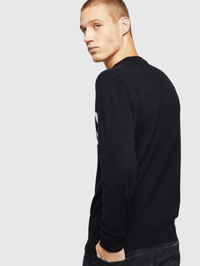 Diesel - K-JOY, Black - Knitwear - Image 3