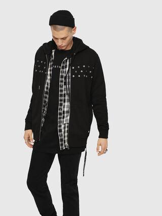 S-GIR-HOOD-ZIP-XMAS,  - Sweaters