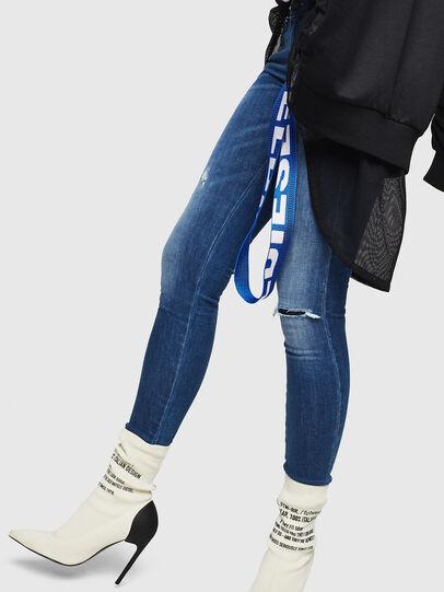 Diesel - Slandy Low 089AI, Medium blue - Jeans - Image 5