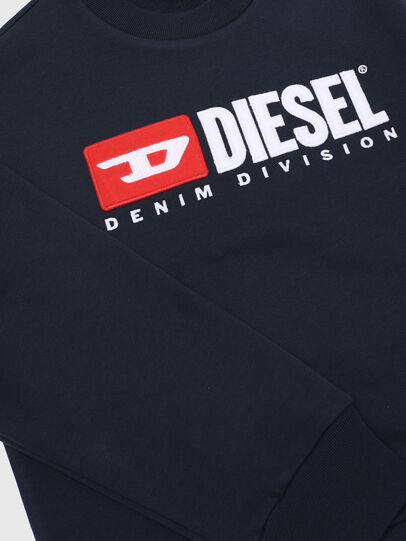 Diesel - SCREWDIVISION OVER, Navy Blue - Sweaters - Image 3