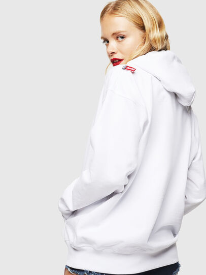 Diesel - CC-S-ALBY-COLA, White - Sweaters - Image 4