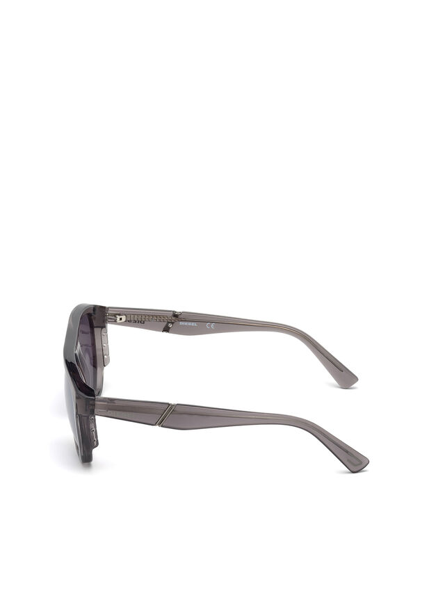 Diesel - DL0255, Grey - Sunglasses - Image 3