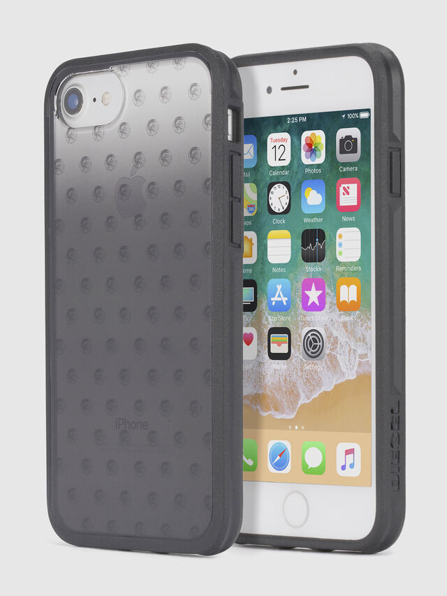 Diesel - MOHICAN HEAD DOTS BLACK IPHONE 8/7/6s/6 CASE, Black - Cases - Image 1