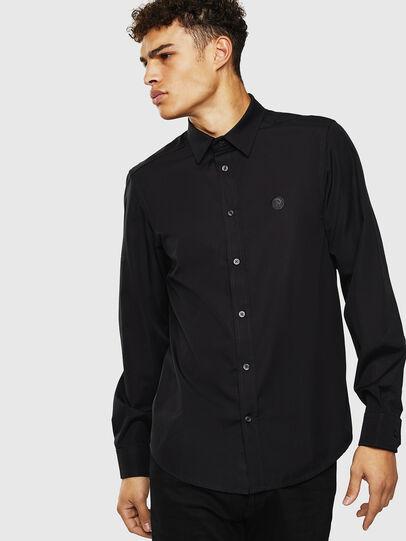 Diesel - S-BILL, Black - Shirts - Image 4