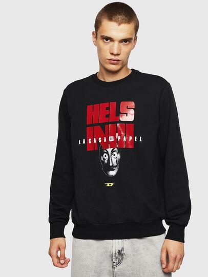 Diesel - LCP-S-GIRK-HELSINKI, Black - Sweaters - Image 1