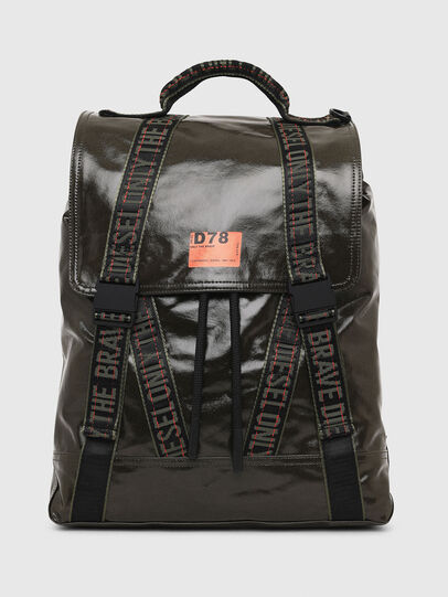 Diesel - MARBACK, Olive Green - Backpacks - Image 1