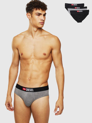 UMBR-ANDRETHREEPACK, Black/Grey - Briefs