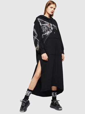 D-ILSE-TWIST-A, Black - Dresses