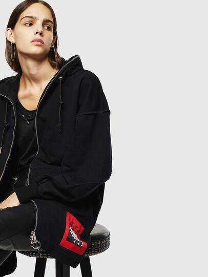 Diesel - F-HALLY, Black - Sweaters - Image 4